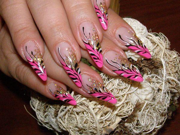 Дизайн ногтей для осенне-зимнего сезона 5