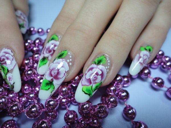 Цветной френч с цветами