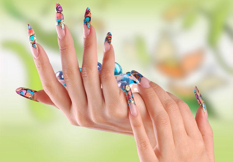 Красивые наращенные ногти, дизайн и картинки