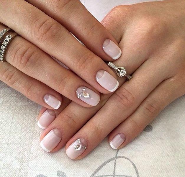 Шеллак Маникюр Дизайн Фото На Короткие Ногти Для Начинающих