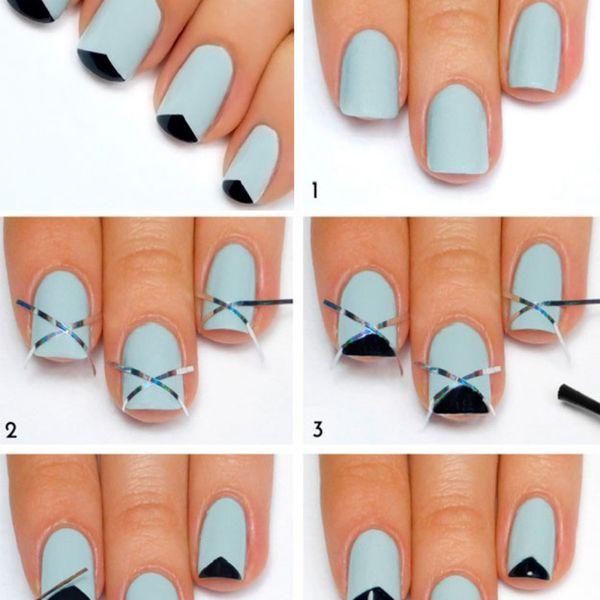 Дизайн ногтей своими руками пошагово фото 423