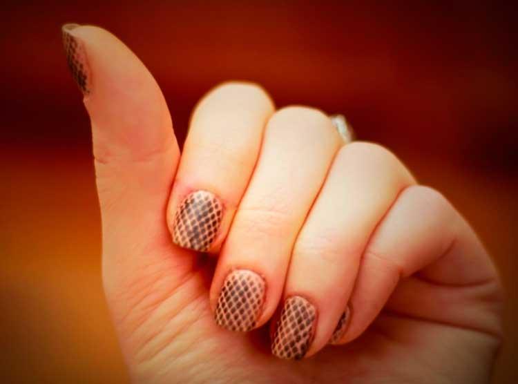 Ногти 2 Лаками Фото