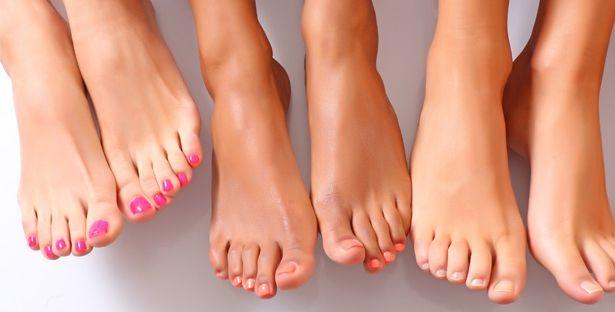 Шеллак на ногах  (фото с примерами)