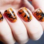 Оригинальный рисунок на ногтях