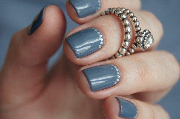 Красивый маникюр на короткие ногти фото