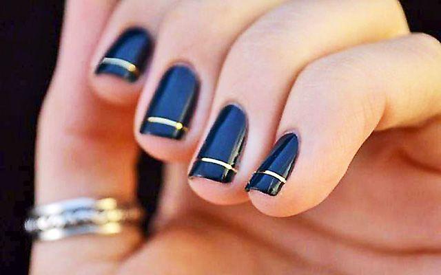 Ухоженность и стиль: используем шеллак синий