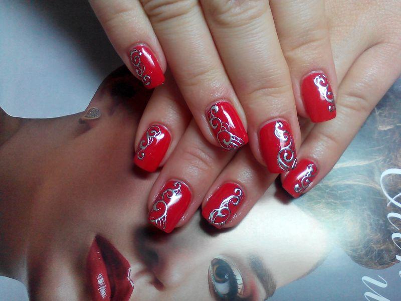 Эффектные ногти — рисунки гель-лаком