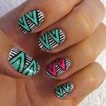 Оригинальная идея дизайна ногтей