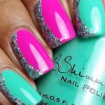 Вариант оформления ногтей 16