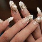 Вариант декорирования ногтей