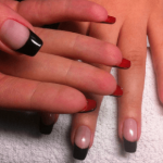 Вариант оформления ногтей 78