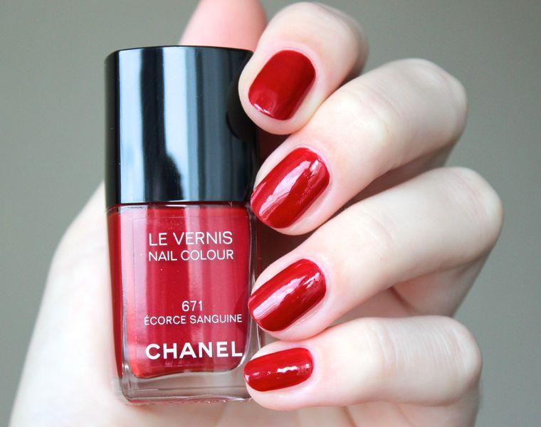 0b3a7d37060 Элегантность Chanel в маникюре