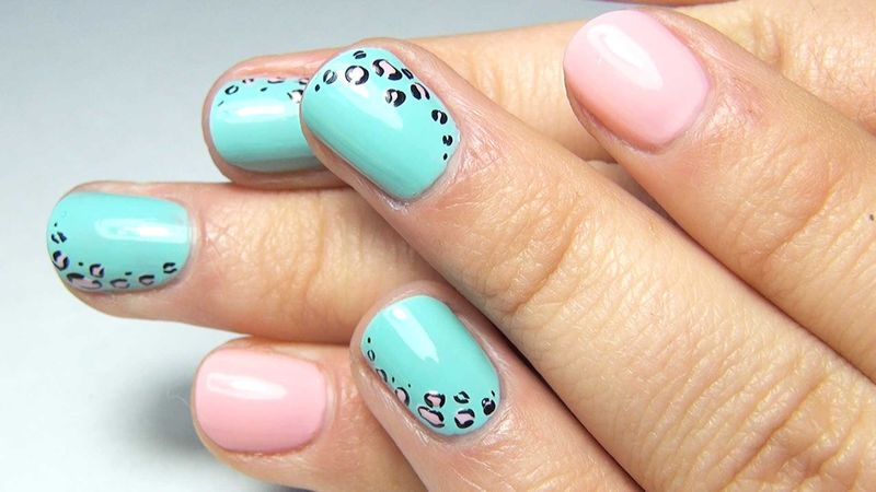 Леопардовый маникюр – дизайн ногтей для светских львиц и юных кошечек