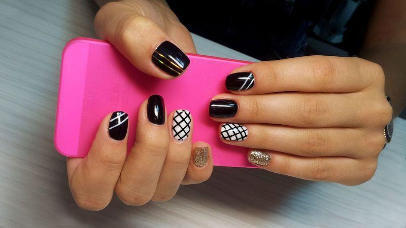 Невероятные дизайны с помощью принтера для ногтей