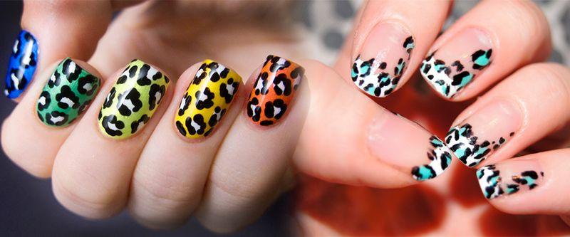 Леопардовый маникюр – дизайн ногтей с животным принтом: фото и видео уроки