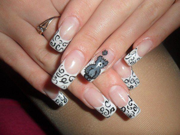 Мишки Тедди на ногтях: как создать милый и нежный маникюр