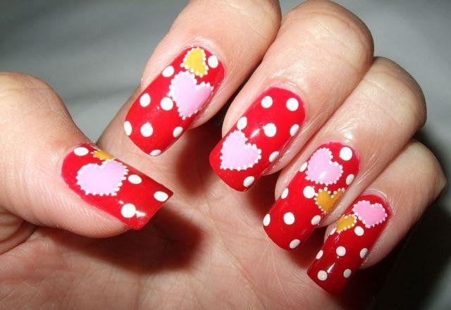 Маникюр в горошек: фото стильных ногтей с точками