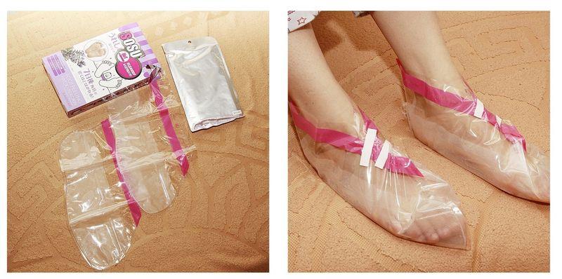 Японские педикюрные носочки Sosu (Сосу)