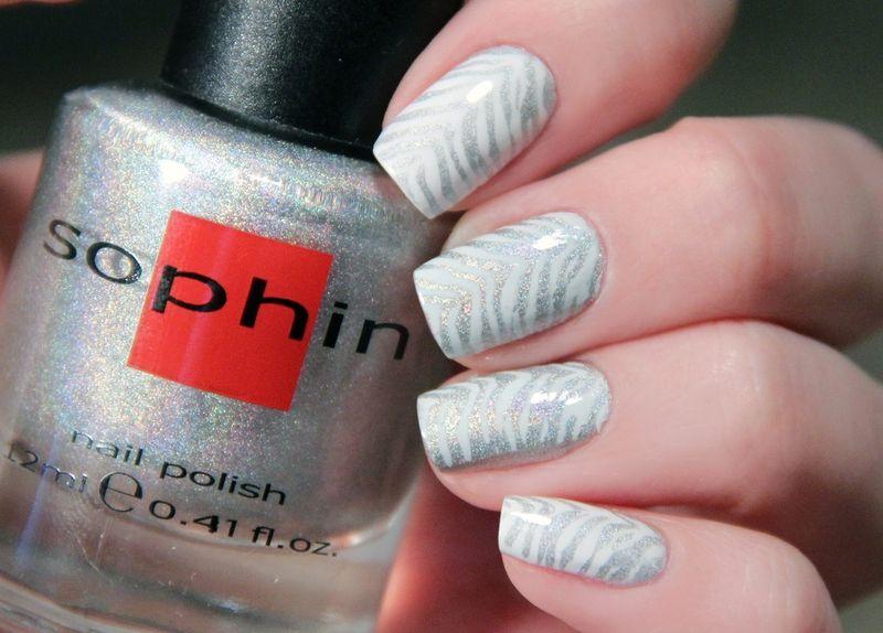Лак для ногтей Sophin: палитра и фото нейл-арта