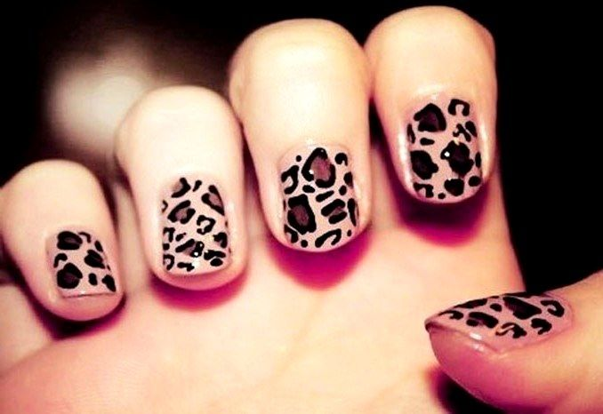 Тигровый маникюр: фото кошачьего дизайна ногтей