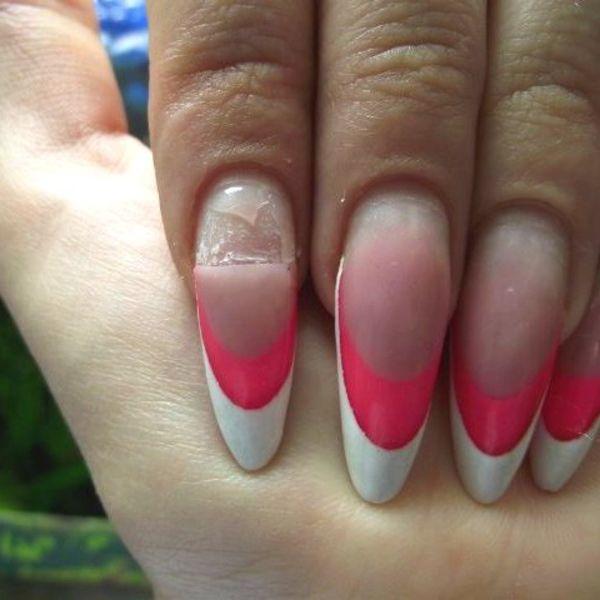 Как сделать акриловые ногти фото 732