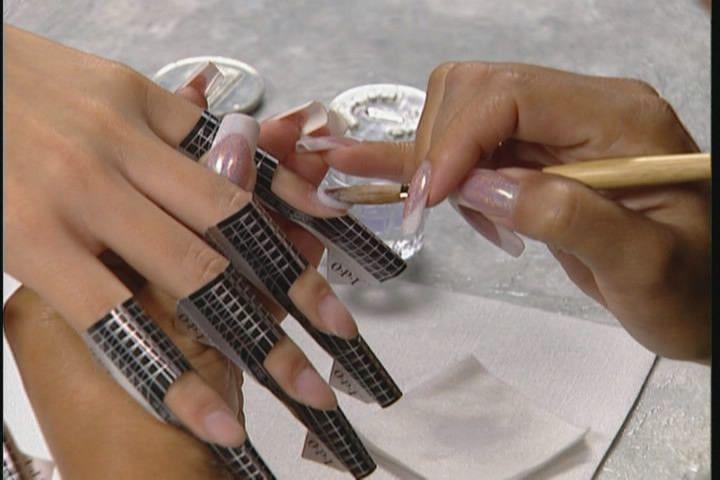 Типсы для наращивания ногтей