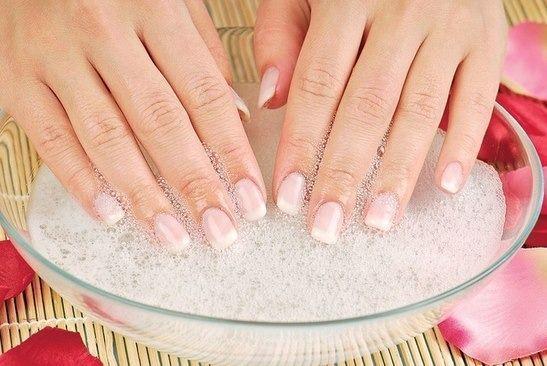 Сода для ногтей