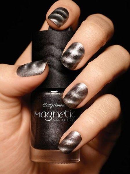 Магнитный лак для ногтей – оригинальный нейл-арт для яркого образа