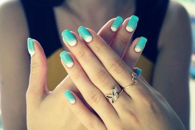 С чем сочетать лак для ногтей?