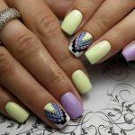 Морской дизайн ногтей 9