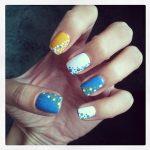 Морской дизайн ногтей 13