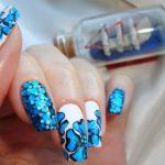 Морской дизайн ногтей 15