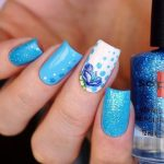 Морской дизайн ногтей 17