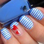 Морской дизайн ногтей 18