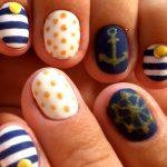 Морской дизайн ногтей 2
