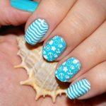 Морской дизайн ногтей 19