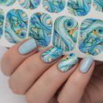 Морской дизайн ногтей 23