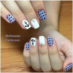 Морской дизайн ногтей 3