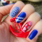 Морской дизайн ногтей 4