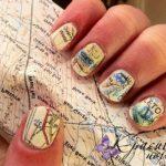 Карта на ногтях