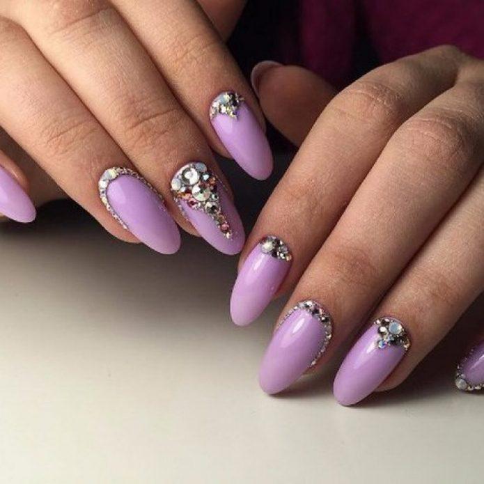 Дизайн ногтей на выпускной