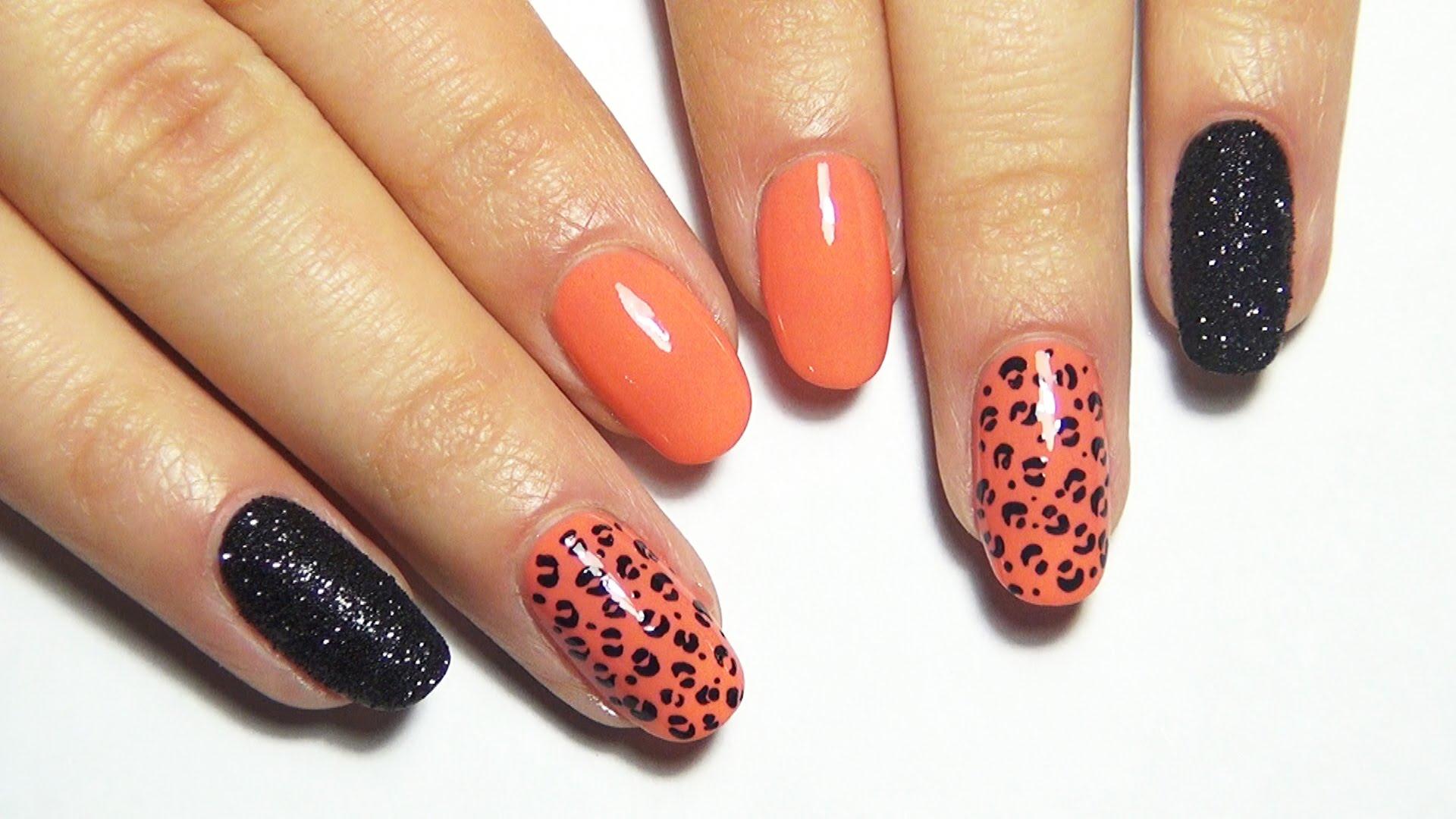 Дизайн ногтей леопард: техники выполнения, варианты