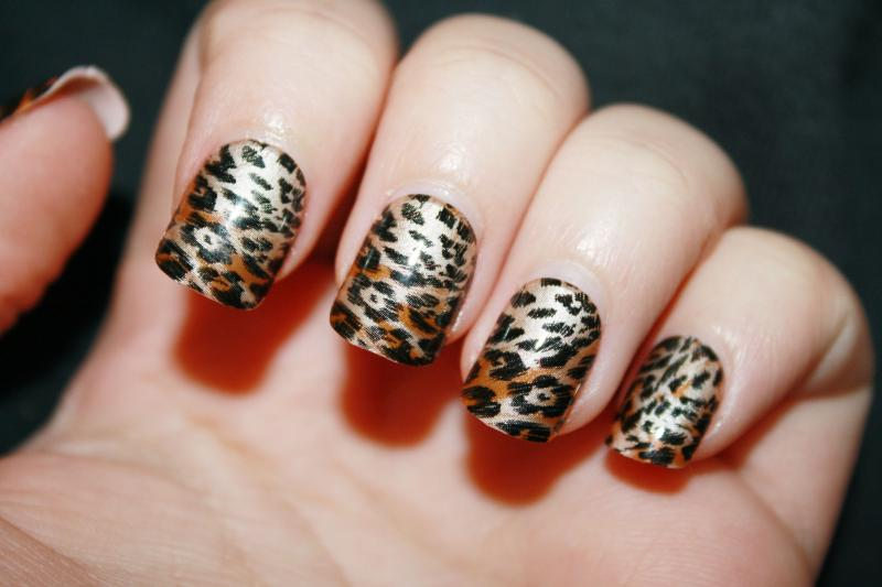 Дерзкий леопардовый: 30 вариантов маникюра