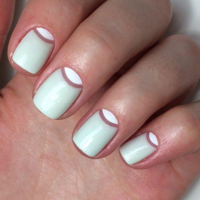 Маникюр для коротких ногтей
