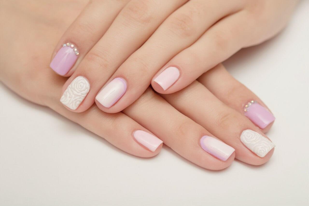 Идеи свадебного маникюра на короткие ногти: гель-лак в дизайне