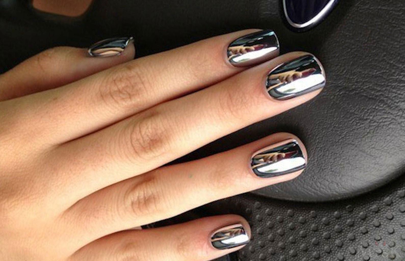 Как сделать зеркальные ногти в домашних условиях