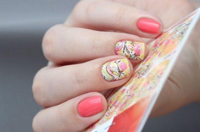 Райские птицы на ногтях