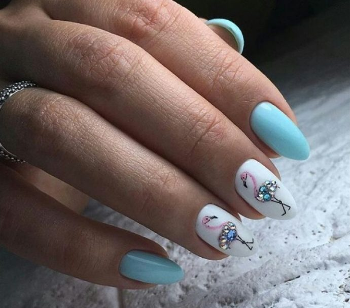 Дизайн ногтей с птицами