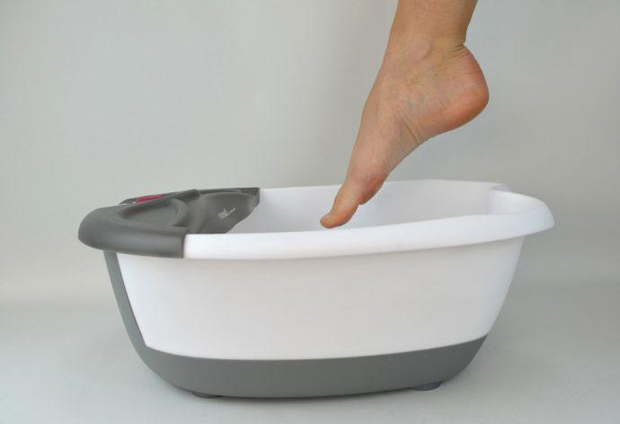 Ванночка с теплой водой
