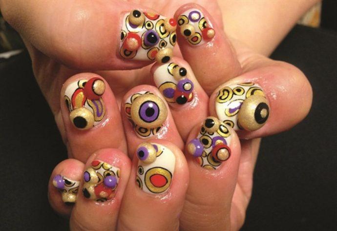 Самый ужасный дизайн ногтей